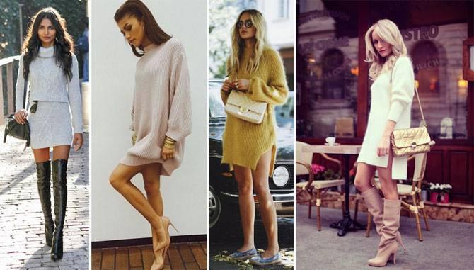 495d6bc0754 Женственно и тепло  выбираем вязаное платье