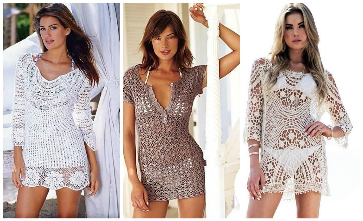 Белые пляжные платья купить