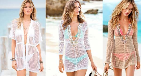 Коллекции пляжных платьев