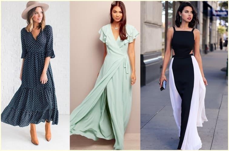 ffe4112cf47 Длинное летнее платье - это прекрасная возможность демонстрировать свою  женственность и привлекательность каждый день. Иметь его необходимо